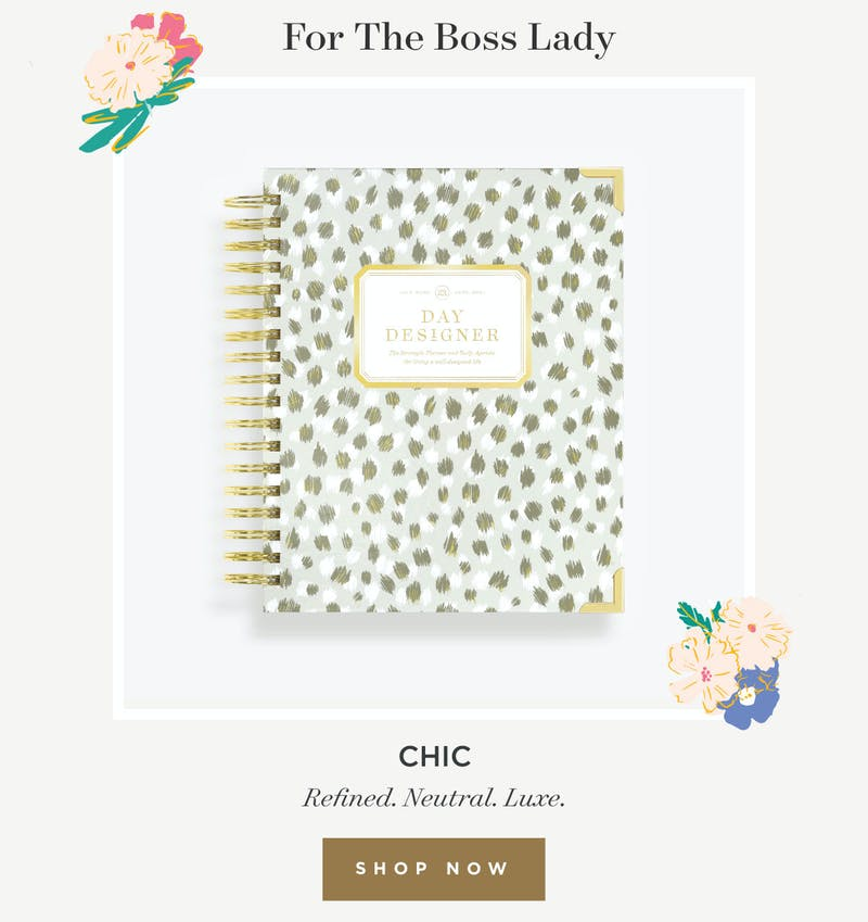 For The Boss Lady.