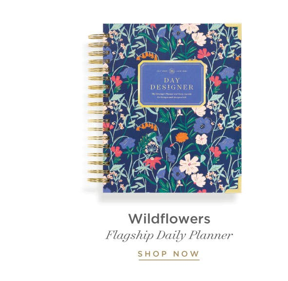 Daily Planner - Wildflowers.