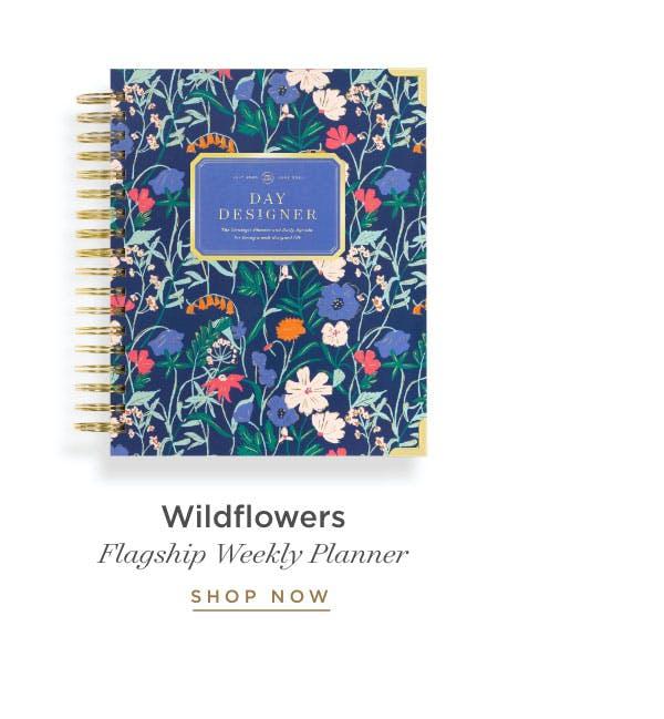 Flagship Weekly Planner in Wildflowers.