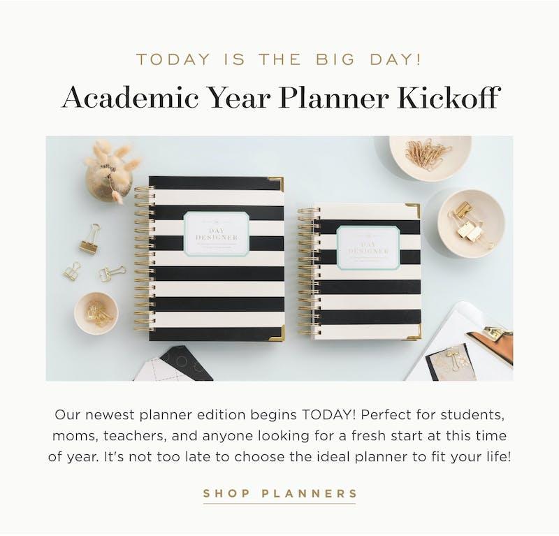 Academic Year Planner Kickoff!