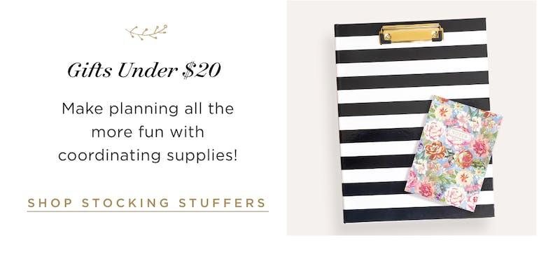 Gifts Under $20.