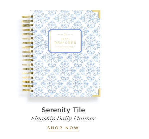Flagship Daily Planner - Serenity Tile.