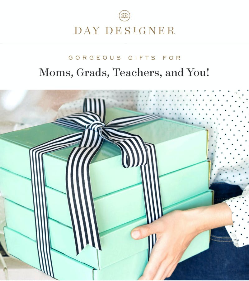 Gorgeous gifts for moms, grads, teachers, and you!
