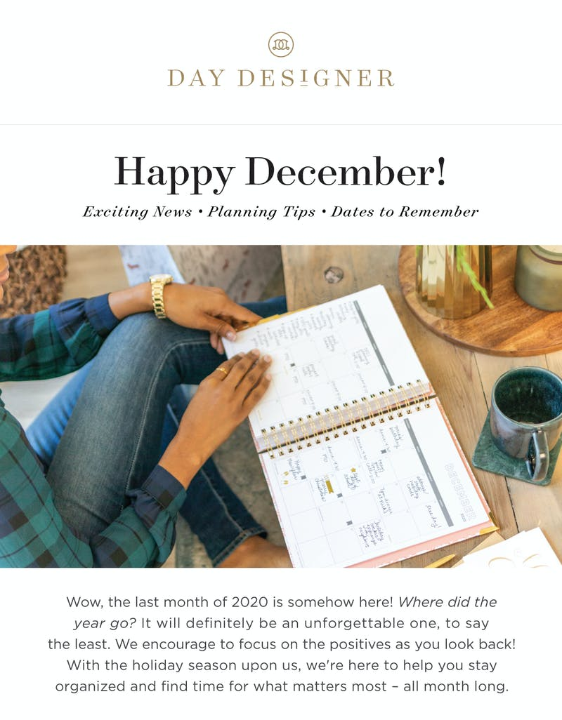 Exciting News, Planning Tips, and Dates to Remember!
