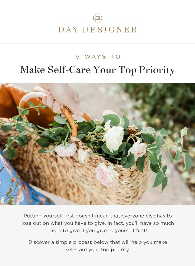 5 Ways to Make Self-Care Your Top Priority.