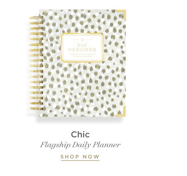 Daily Planner - Chic.
