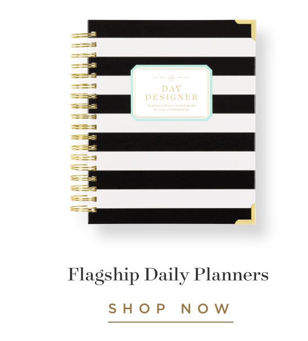 Flagship Daily Planners.