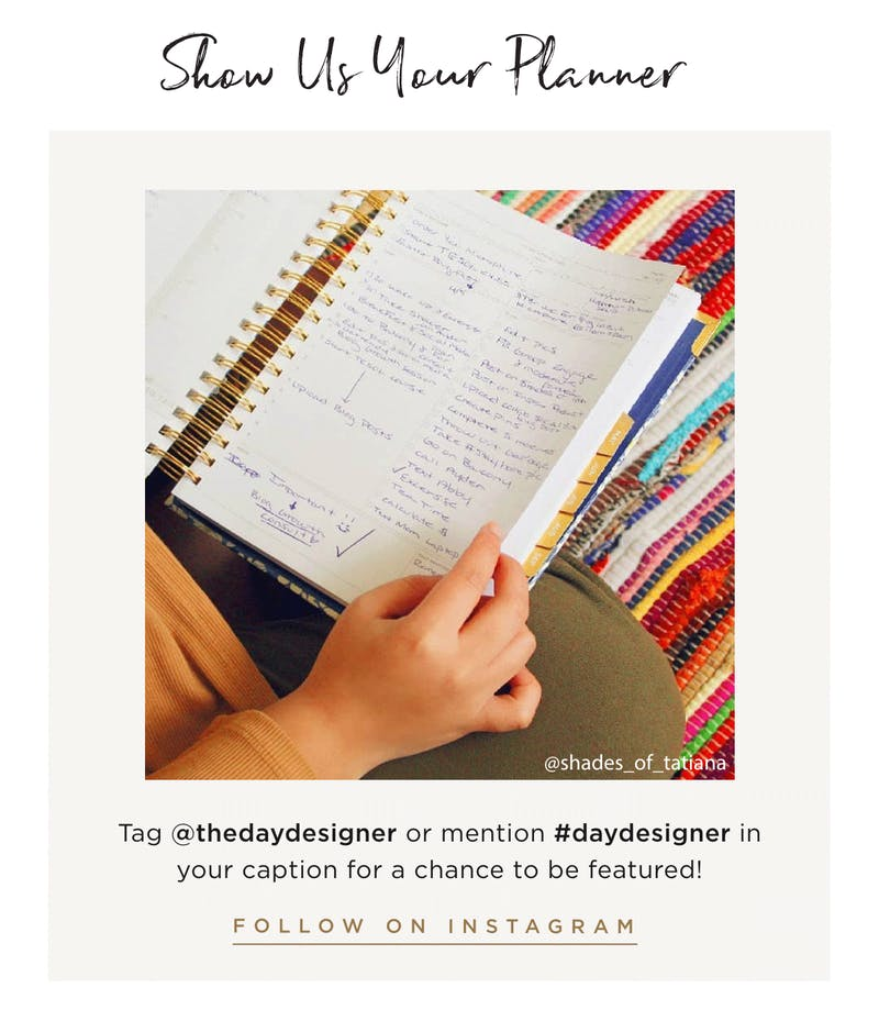 Show Us Your Planner.