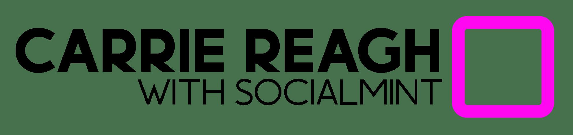 Carrie Reagh Social Mint logo