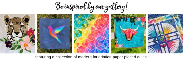 Make Modern Issue 41 Gallery: FPP Quilts