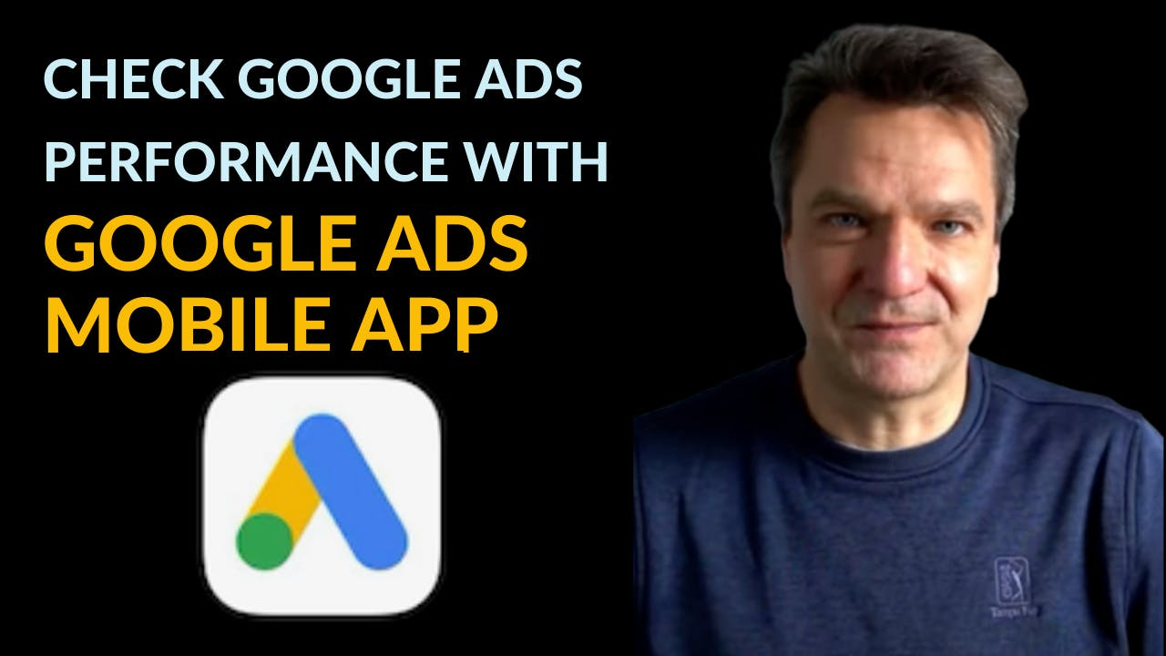 Quickly check your Google Ads' real time performance on the phone