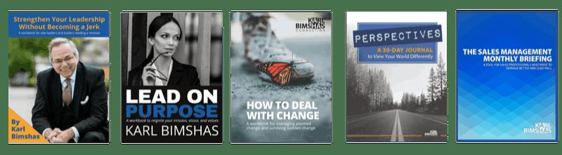 5 Leadership Workbooks