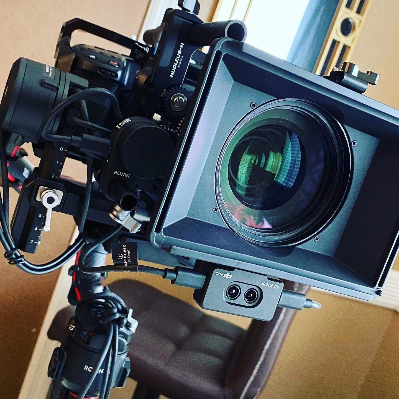 One of my recent camera rigs! Let's shoot something, DM me for availability. #film #setlife #cameras #camerarig #rig #gimbal #dji #pocket4k #dzofilm @dji_official @blackmagicnewsofficial @tiltaing @smallrig.global @dzofilm
