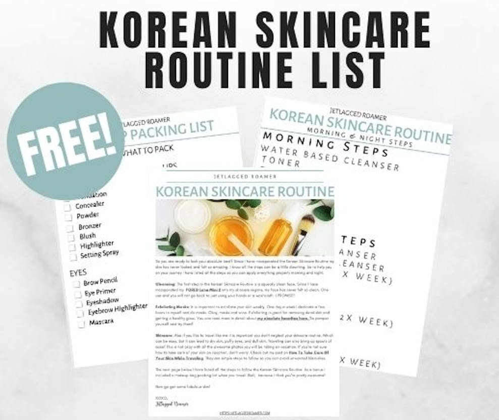 How To Follow The Korean Skincare Routine Day Night Steps Made Simple For Newbies Jr