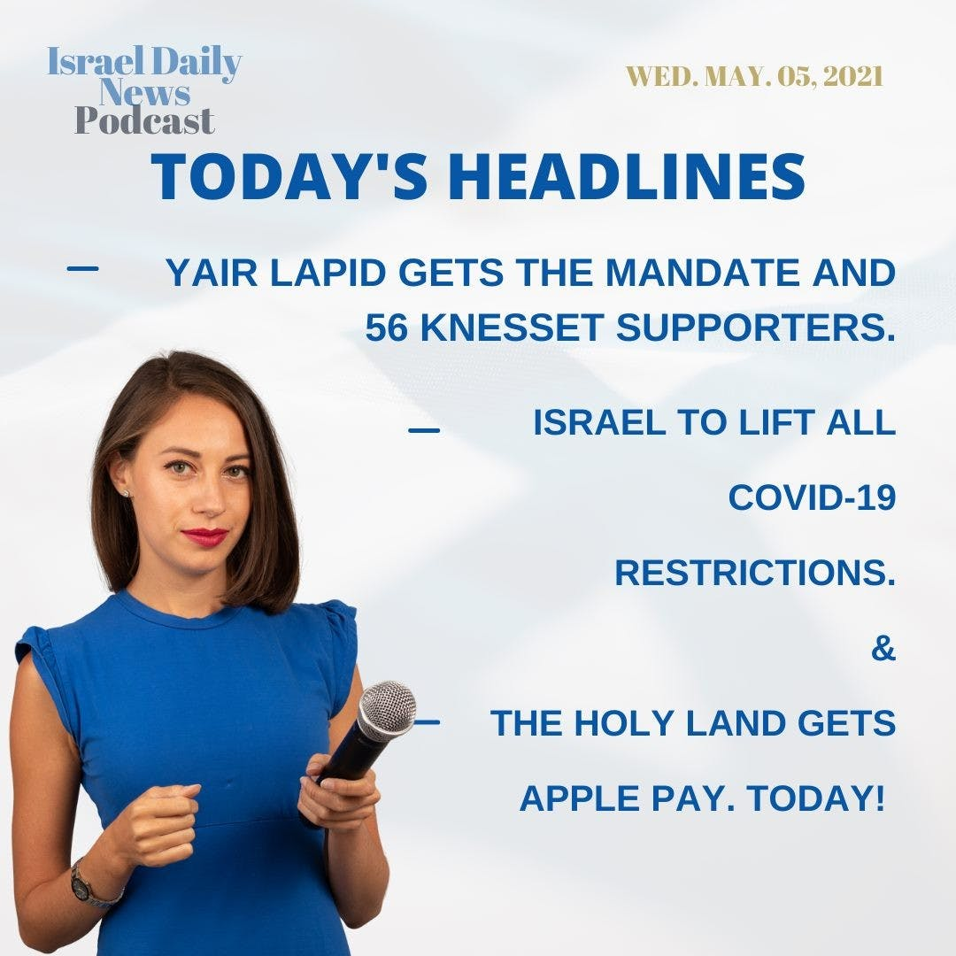 Here are today's headlines. Want to know more? Listen to the Israel daily news podcast so you can get caught up quickly! 🎙👩💻🎧 -  -  -  #insta_global #instagram_israel #gf_israel #e_srael #jews #telaviv #judaism #jewish #taglit #our_jerusalem #עםישראלחי #news #podcaster #israel_times #e_srael #jerusalem #netanyahu #lapid #covid19 #applepay