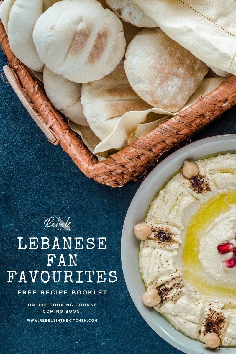 Be notified and receive some of my personal favourite Lebanese recipes for free!