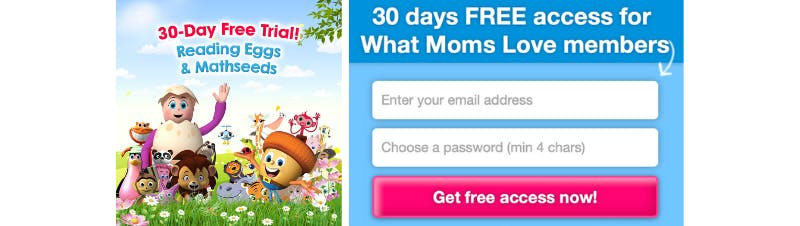 Free 30-day Trial to Reading Eggs