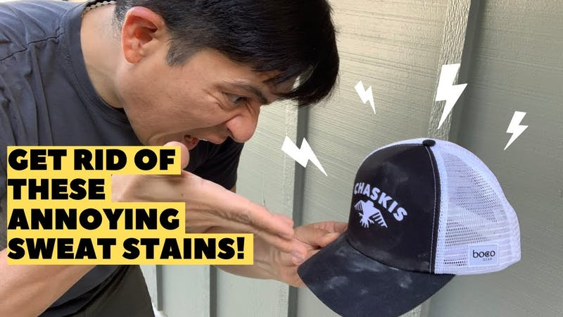 Get Rid Of Annoying Sweat Stains!