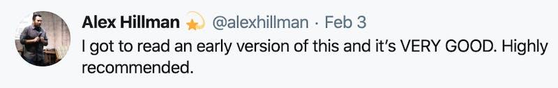 Alex Hillman likes it 😉