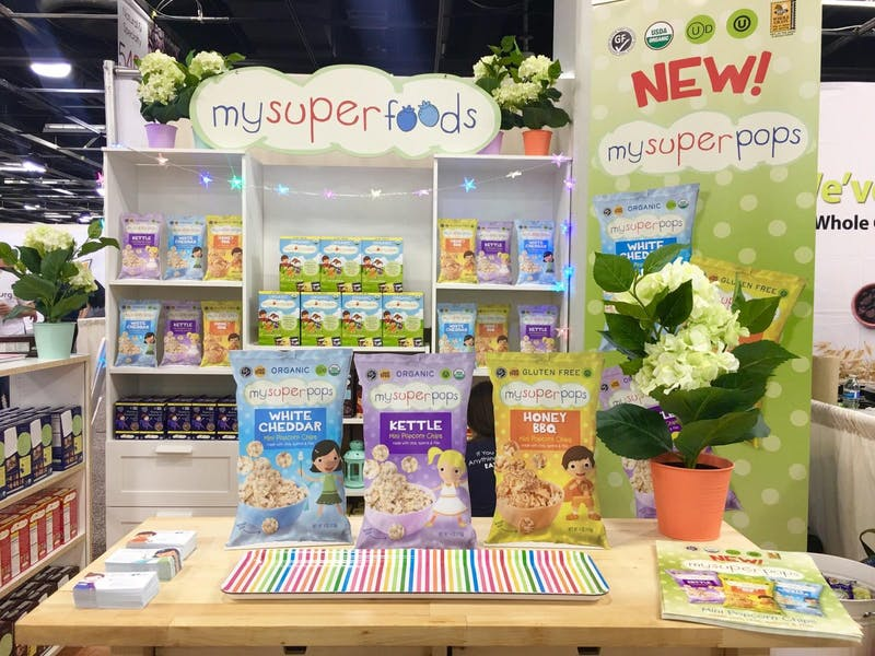 Expo West Launch of MySuperPops 2017