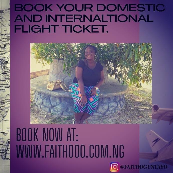Book cheap flight tickets on my website:  https://faithooo.com.ng/book-cheap-flights/  #bookcheapflights #bookcheapflightswithfaithooo  #bookcheapflighttickets #travelpreneurlife  #travelblogging  #traveler  #blogger  #travelblogger  #blogging  #lesiuretravel  #businesstravel #schooltravel #worktravel  #vacationtravel  #visitfamilyandfriendstravel #eventstravel #relocationtravel #alltypesoftravel