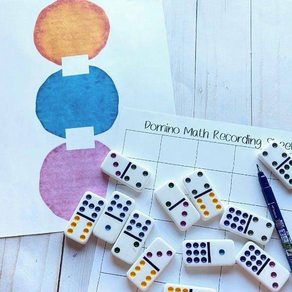 Domino Fun Math Worksheets Mom Life Made Easy