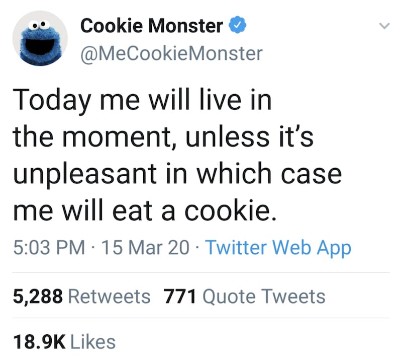 Cookie Monster Teaches Mindfulness